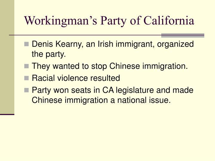 Workingman's Party of California