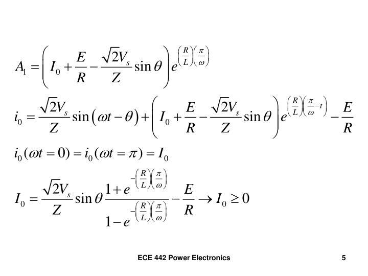ECE 442 Power Electronics