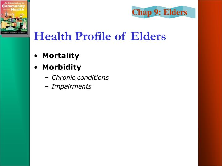 Health Profile of Elders