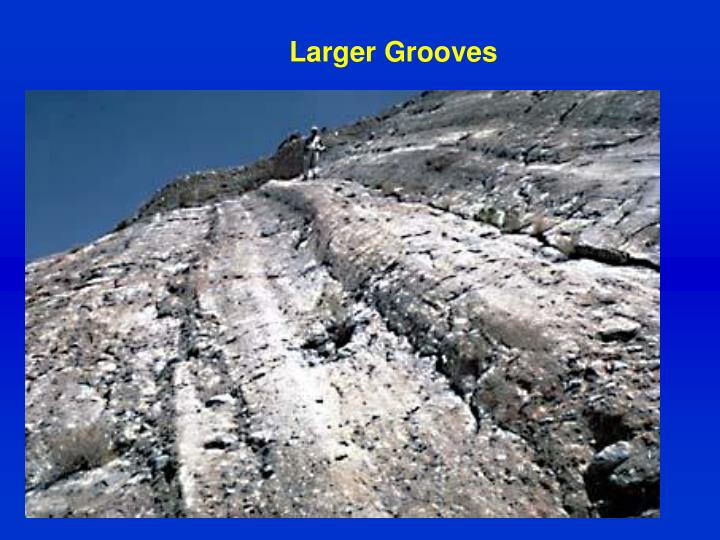 Larger Grooves
