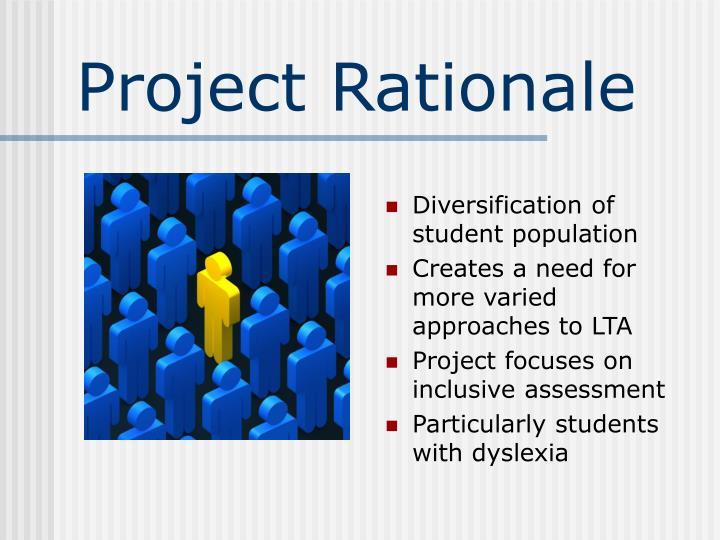 Diversification of student population