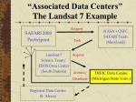 associated data centers the landsat 7 example2
