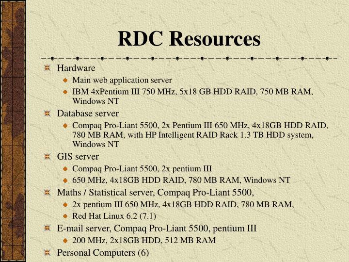 RDC Resources