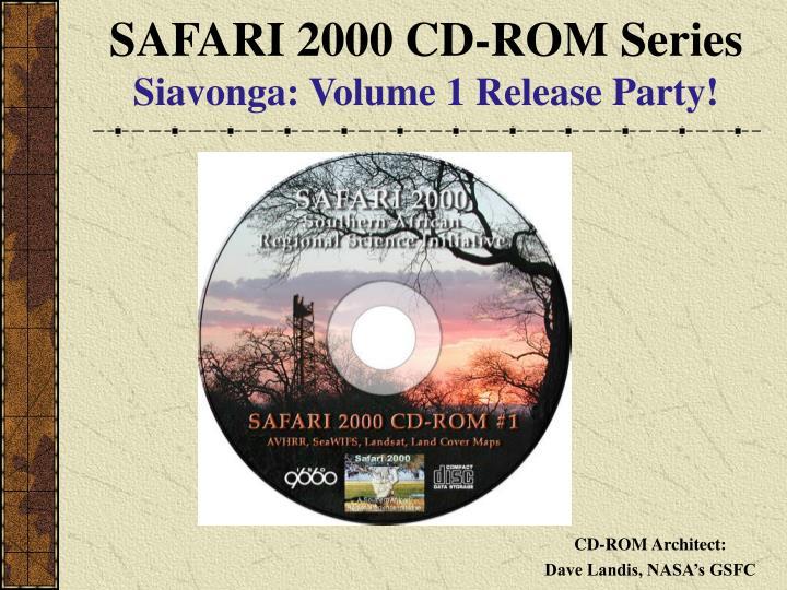 SAFARI 2000 CD-ROM Series