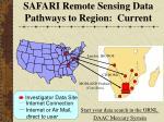 safari remote sensing data pathways to region current1