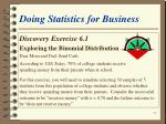 doing statistics for business27