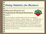 doing statistics for business29