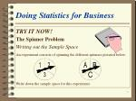doing statistics for business3