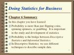 doing statistics for business61