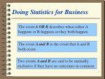 doing statistics for business7