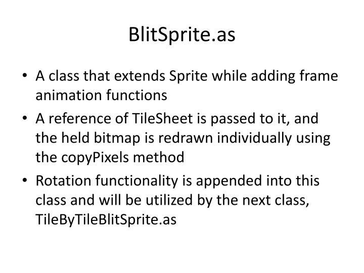 BlitSprite.as