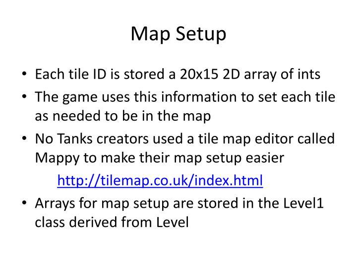 Map Setup