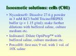 isoosmotic solutions cells c01
