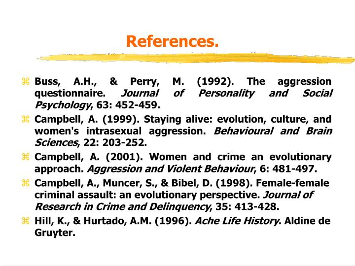 References.