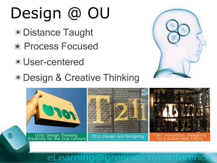 Design @ OU