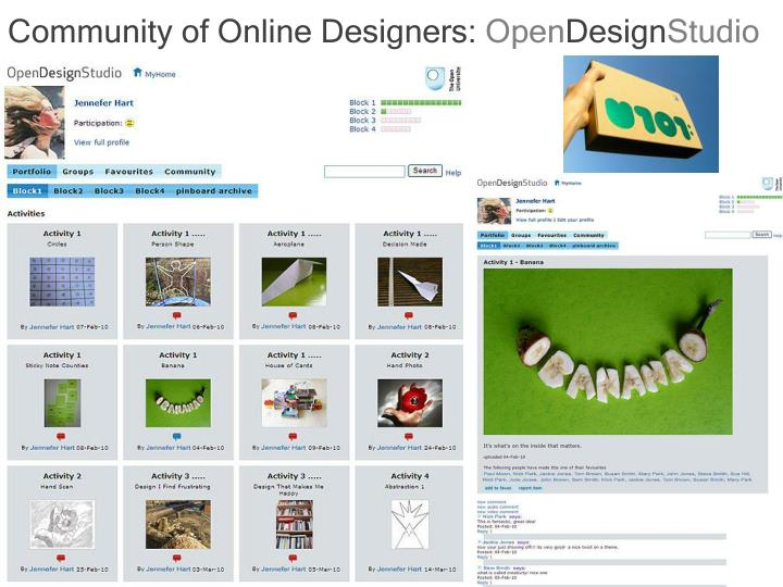 Community of Online Designers: