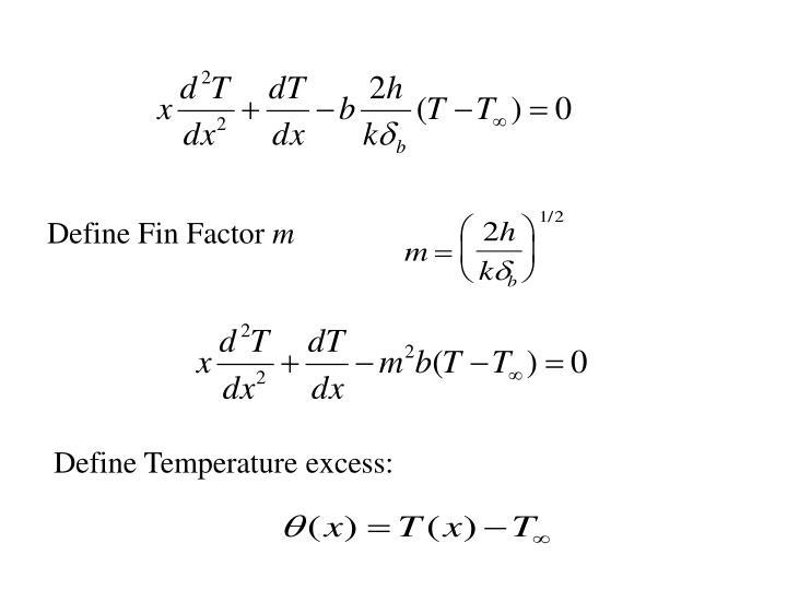 Define Fin Factor