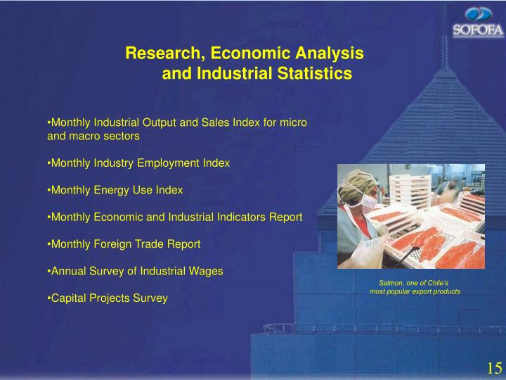 Research, Economic Analysis