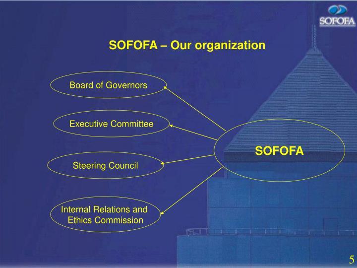 SOFOFA – Our organization