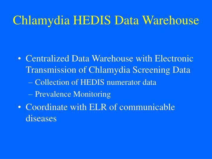 Chlamydia HEDIS Data Warehouse