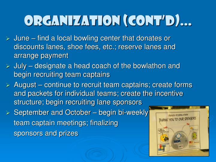 ORGANIZATION (