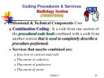coding procedures services radiology section 70000 799993