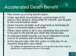 accelerated death benefit