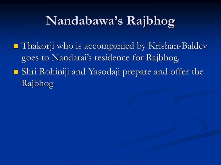 Nandabawa's Rajbhog