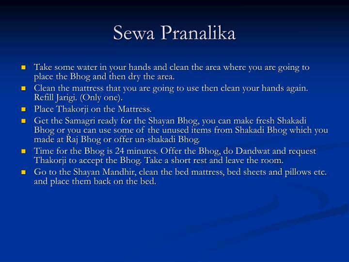 Sewa Pranalika