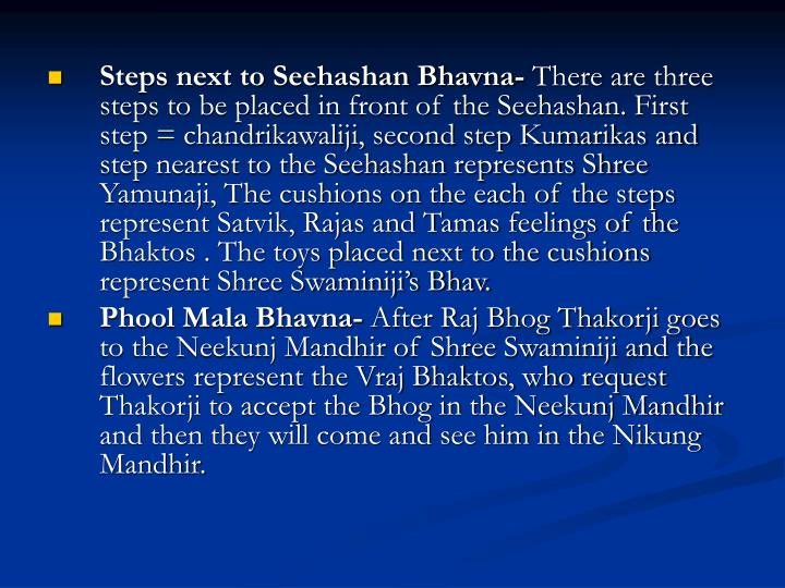 Steps next to Seehashan Bhavna-