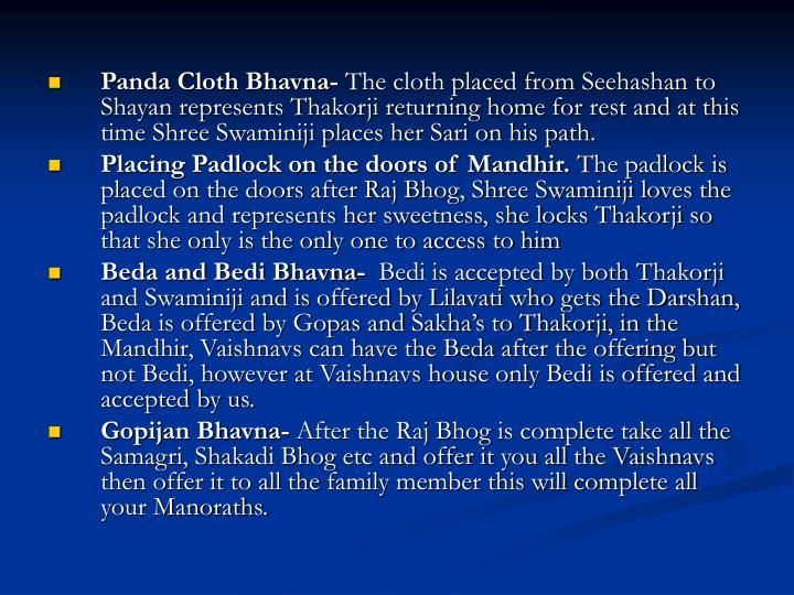 Panda Cloth Bhavna-