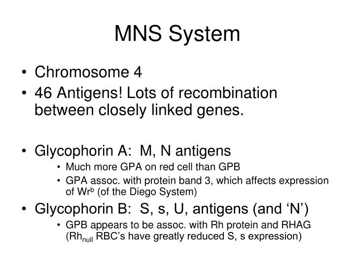 MNS System
