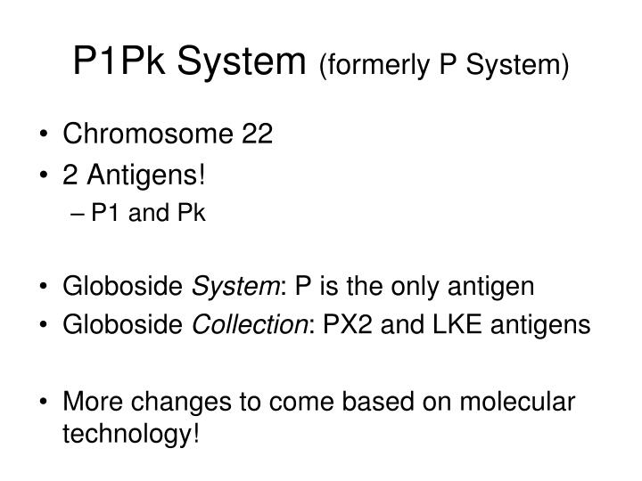 P1Pk System