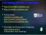unit testing mvvm in silverlight1