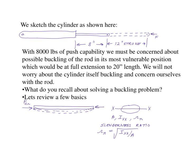 We sketch the cylinder as shown here:
