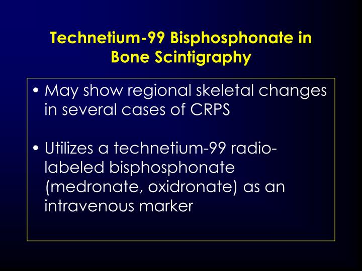 Technetium-99 Bisphosphonate in