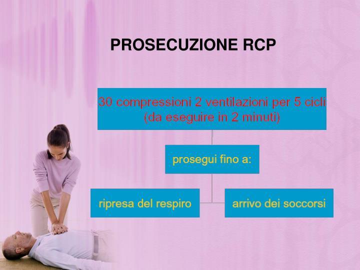 PROSECUZIONE RCP