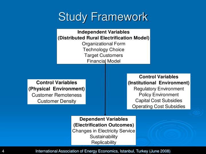 Study Framework