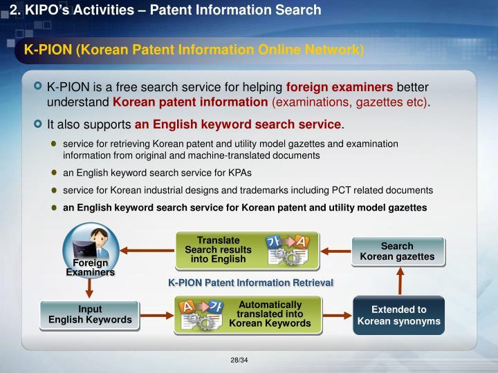 K-PION (Korean Patent Information Online Network)