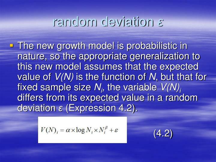 random deviation