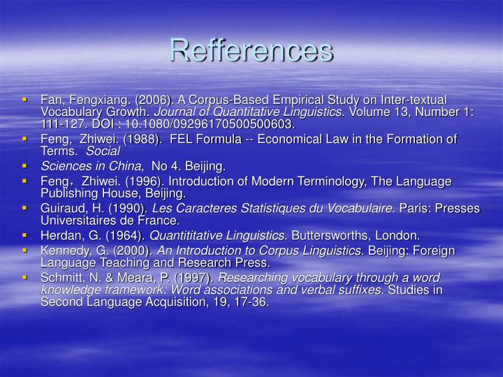Refferences