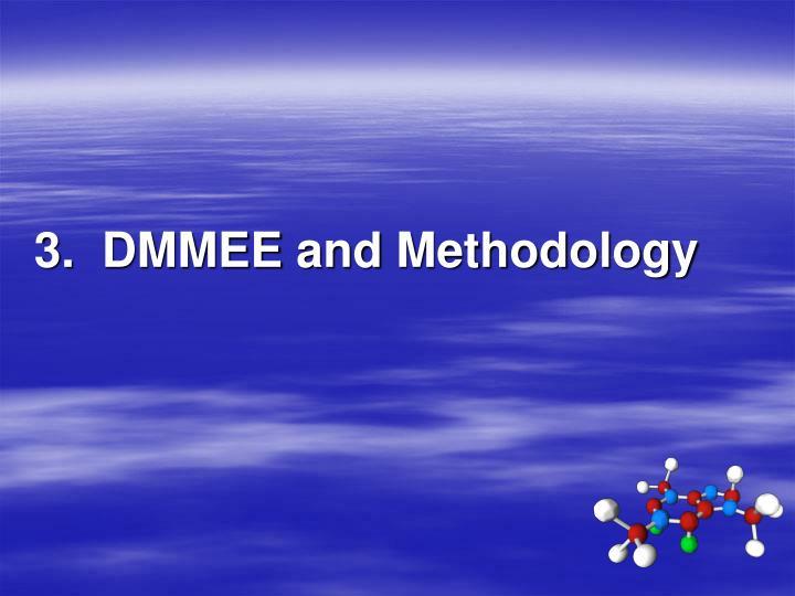 3.  DMMEE and Methodology