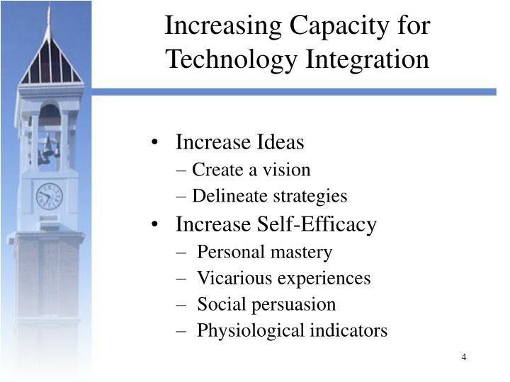 Increasing Capacity for