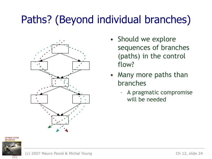 Paths? (Beyond individual branches)