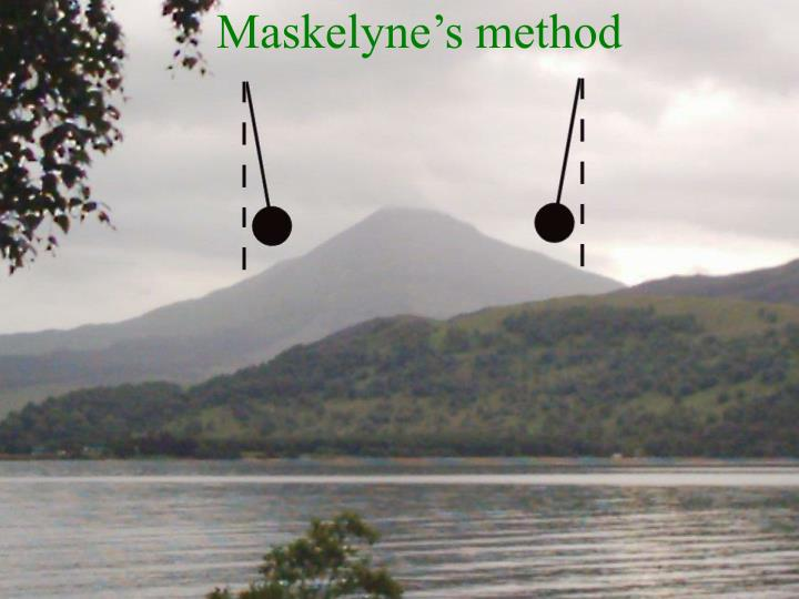 Maskelyne's method