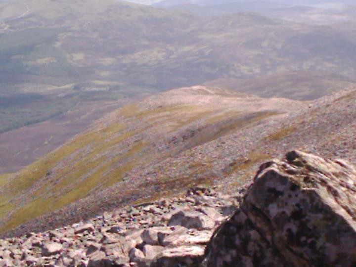 Schiehallion is a ridge