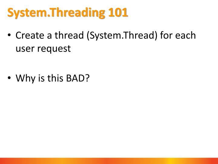 System.Threading 101