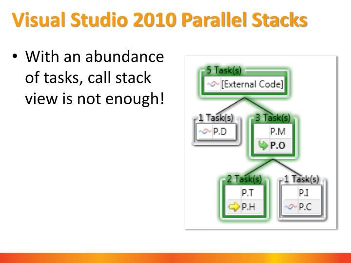 Visual Studio 2010 Parallel Stacks