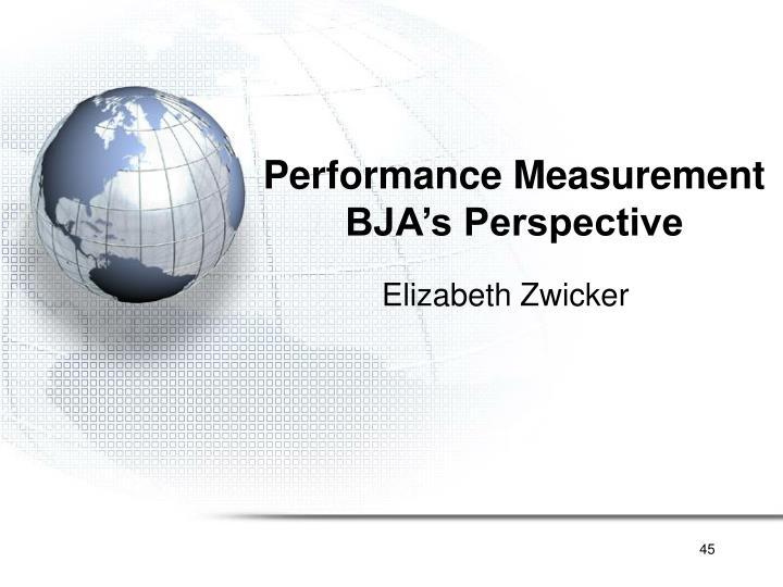 Performance Measurement