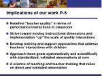 implications of our work p 5